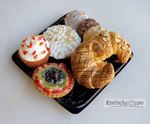 Some of the delicious treats available in the Bakery On Main.  The BOM is connected to the restaurant, Pasquale's.