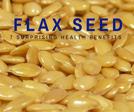 Seven surprising health benefits of flax seeds.