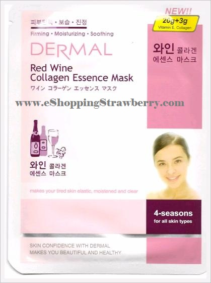 Dermal Red Wine Collagen Essence Mask