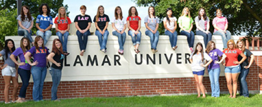 The Panhellenic Council of Lamar University