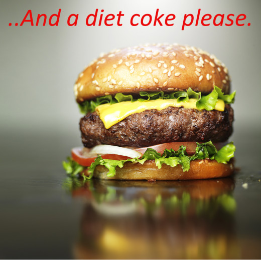 Funny Weight Loss Quotes: A Diet Coke With That Please!
