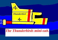Thunderbirds was an influential British children's program.