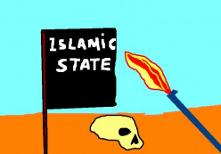 Islamic State with its death wish.