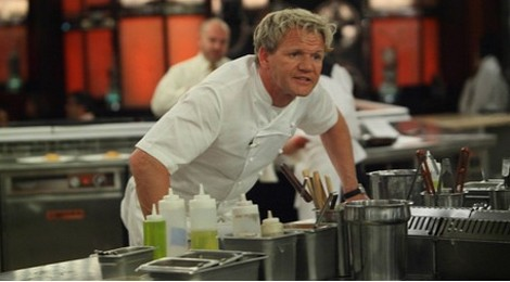 Gordon Ramsay often has to get tough in order to teach the contestants how to be successful chefs.