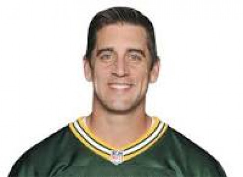 Packers QB, Aaron Rodgers.