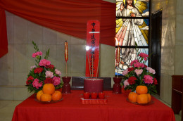 A modern-day ancestor altar.