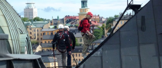 Rooftop Hike in Stockholm