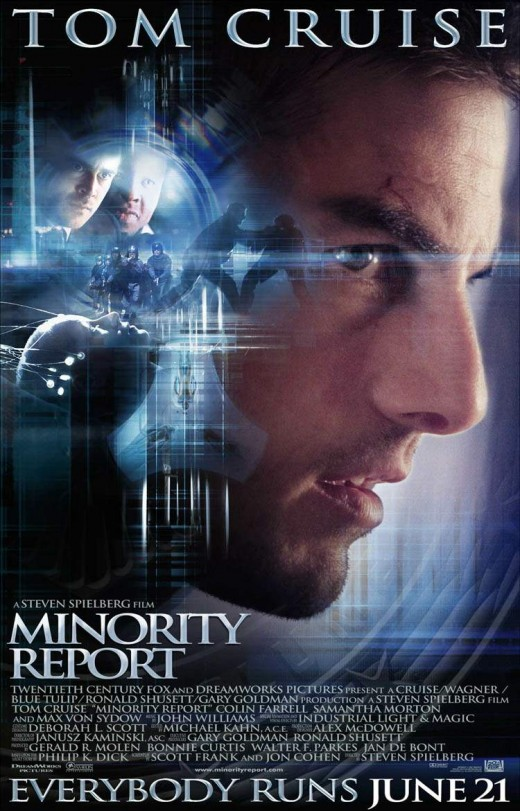 "Poster for ""Minority Report"""
