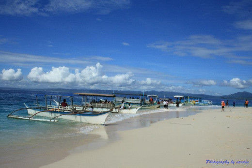 Hagonoy Island - White Beach Island, Britania Islands, Surigao del Sur, Philippines