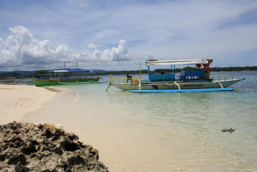 Boston Island - White Beach Island, Britania Islands, Surigao del Sur, Philippines