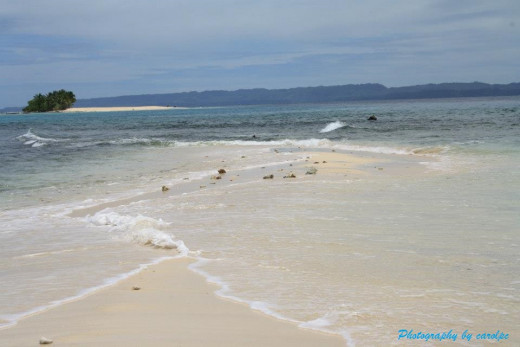 Naked Island - White Beach Island, Britania Islands, Surigao del Sur, Philippines