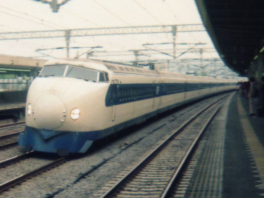 The first Shinkansen finished on August of 1964