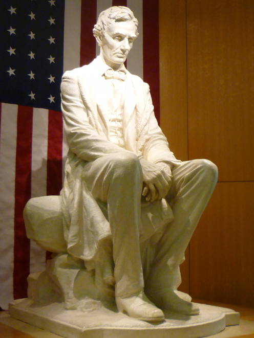 Sculpture of Mr. Abraham Lincoln