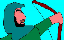 The legend of Robin hood was still very popular in Britain and in Australia.