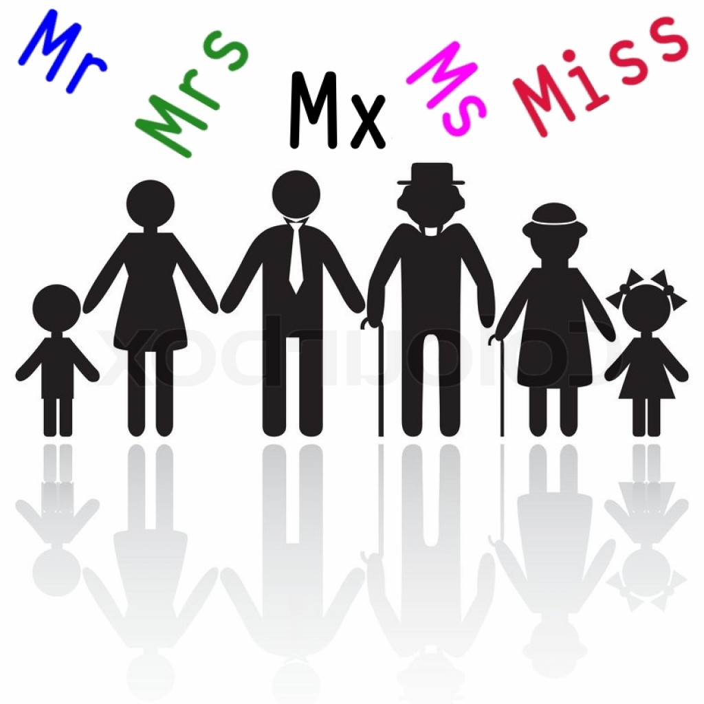 gender neutral honorific title mx gains acceptance from mr miss mrs ms to mx. Black Bedroom Furniture Sets. Home Design Ideas