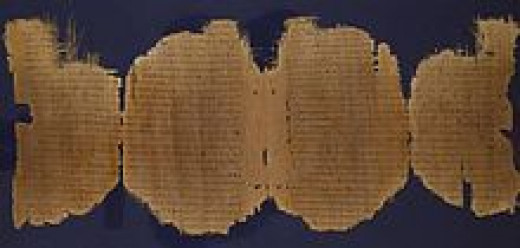 The documents. are they to be trusted? An early Christian manuscript