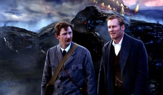 Ian Hart as Watson and Richard Roxburgh as Holmes in the BBC's The Hound of the Baskervilles