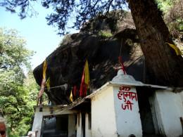 The cave-temple of Kalpeswar