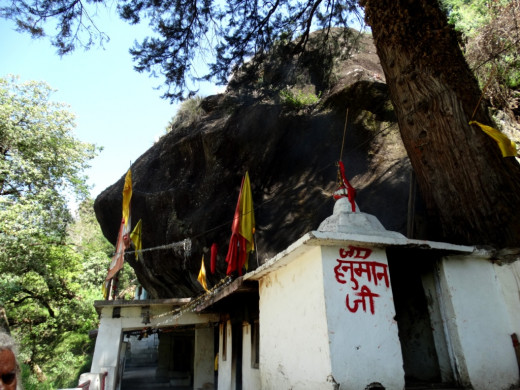 The cave-temple of Kalpeswar