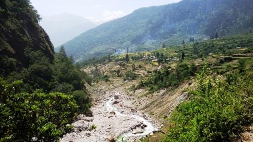 Kalpa Ganga river