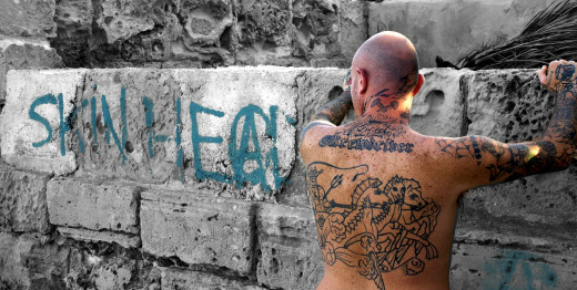 Skinheads are a subculture of youths who may represent rebellion. Since the 1990s much of their interests have been politically influenced.