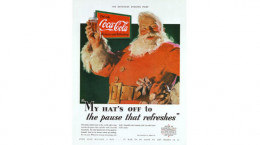Haddon Sundblom painted the first Coca Cola Santa in 1931 using his neighbor as the model.