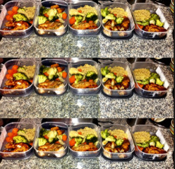 #MealPrep in four easy steps!