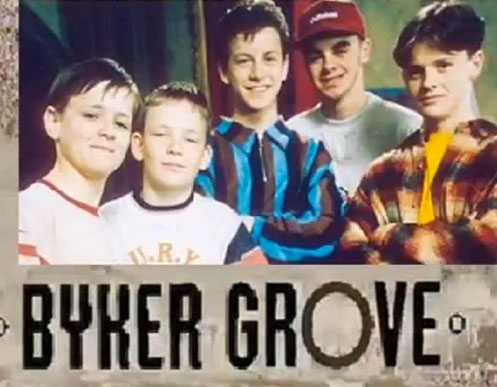 Byker Grove (with Ant and Dec on the far right)
