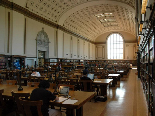 Library at UC Berkeley