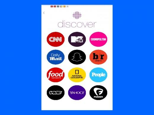 Discover Menu