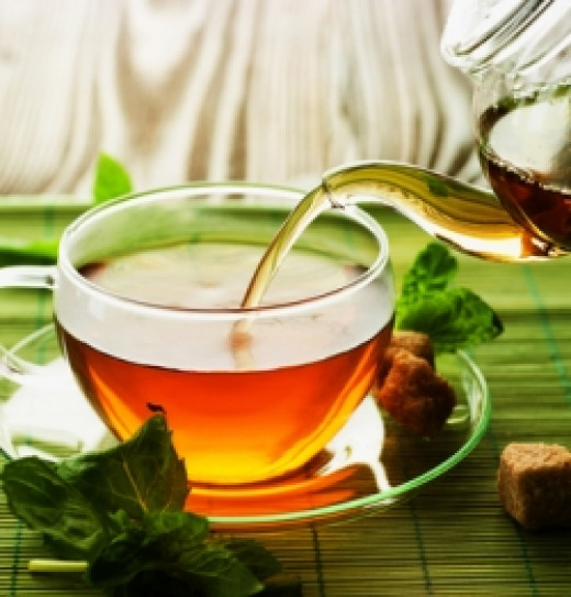 Benefits of drinking green tea for the body.