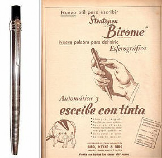 The modern pen in 1943.