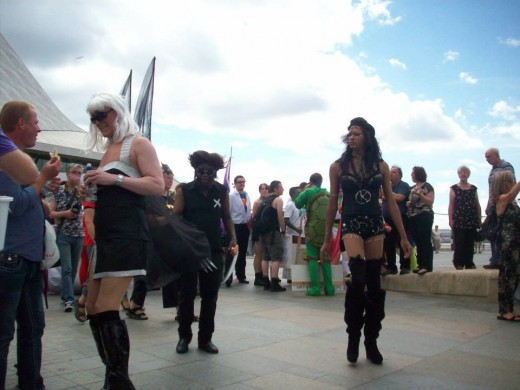 "Copyright to ""Owlish"". Gay Pride, 2013. Liverpool."