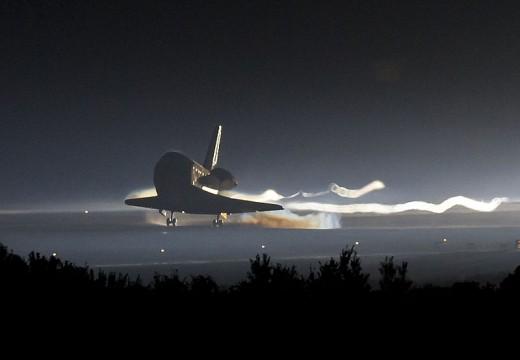 The final landing: STS135, Space Shuttle Atlantis