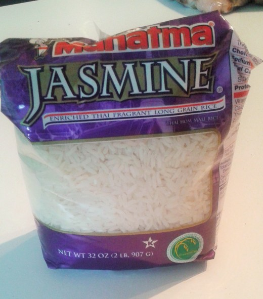 You can choose basmati or jasmine rice. They are both delicious!