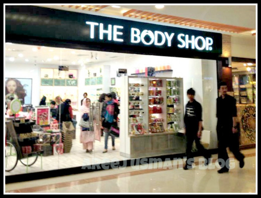 analysis on the body shop