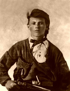 Jesse dressed in riding clothes.