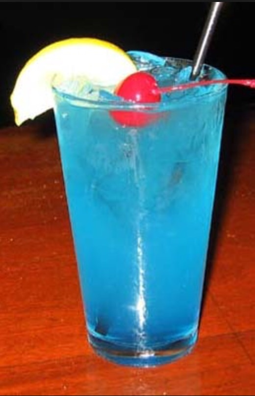 A ballsy concoction of Gin, Tequila, Vodka, and Blue Caracao, mixed with sweet and sour, 7-up, and lime juice. The ultimate Party starter!!