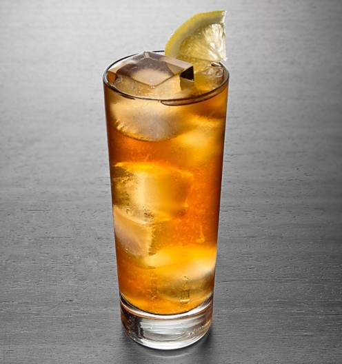 A laid back mix of Gin, Vodka, Rum, Triple Sec, and Sweet n' Sour, finished with a splash of Coke, and a lemon wedge. Served on the rocks.