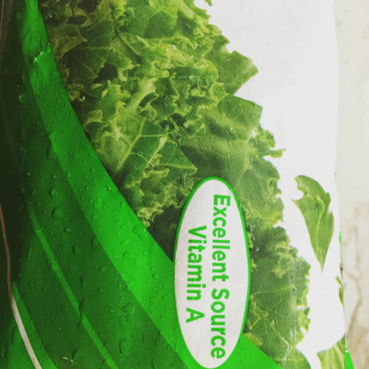 Frozen chopped kale