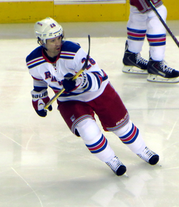 Martin St. Louis captained the Tampa Bay Lightning to a Stanley Cup in 2004.  Last season, St. Louis scored timely goals, helping the Rangers make the Final - despite the untimely death of his mother during the playoffs.