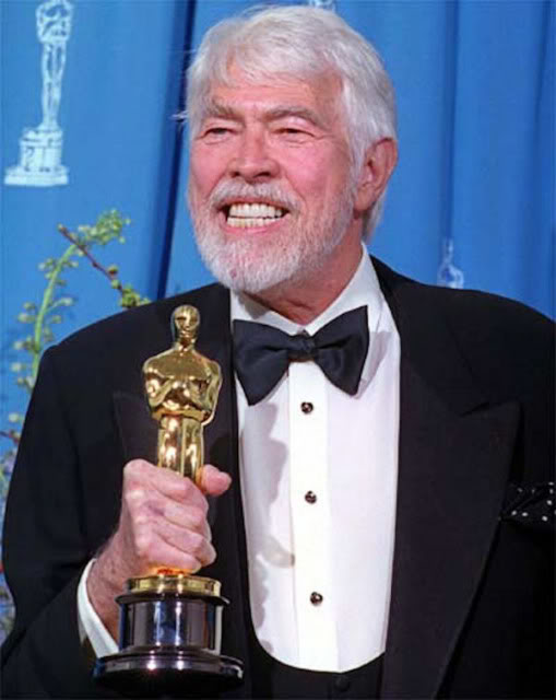 The late actor, James Coburn knew everything about being the center of attention.