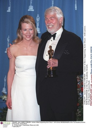 One of Coburn's ,many female friends was actress, Kim Basinger.