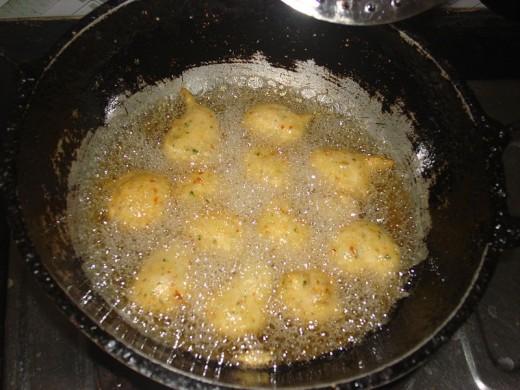 Vadas Frying