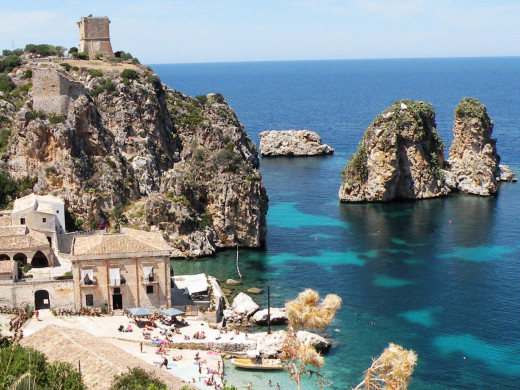Check out a piece of history in the Tonnara di Scopello