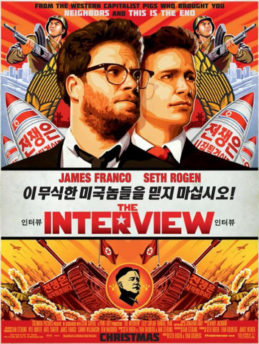 "Poster for ""The Interview"""