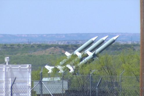 These surface to air missiles were installed near Lubbock, Texas, to protect the US nuclear assembly plant at Pantex.