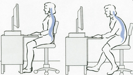 Good Posture (Left);Poor Posture (Right)