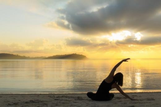 Photo Credit - Beautiful Yoga Girl At Sunrise On The Beach.http://www.freedigitalphotos.net/