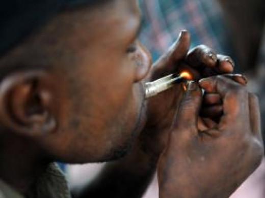 Nyaope Smoker